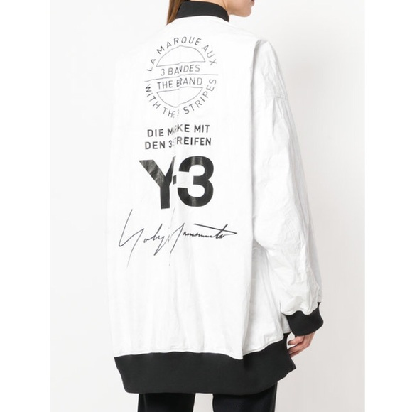 3400058fc Adidas Y-3 reversible bomber jacket chili pepper